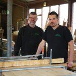 Een mooie bak resthoutjes voor meubelmakers