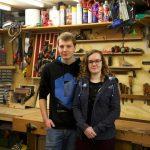 Jonge kampioen meubelmaken bij Konijn tijdens Hemelvaartsdag 10 mei 2018