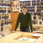 9 maart excursie naar BAPTIST: ontdekken wat goed gereedschap met je doet, en..met hout!